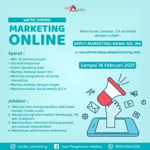 loker marketing online